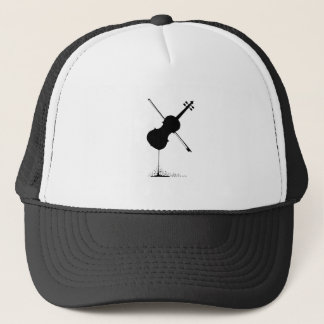 Flowing Fiddle Music Trucker Hat