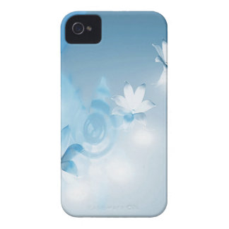 FLOWING FLORAL iPhone 4 CASES