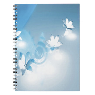 FLOWING FLORAL NOTEBOOK