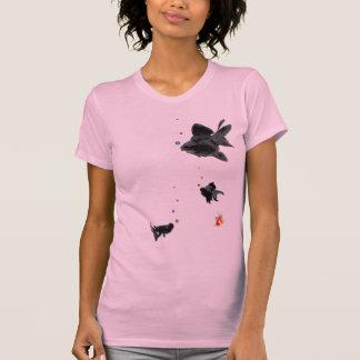 Flowing pop-eyed goldfish T-Shirt