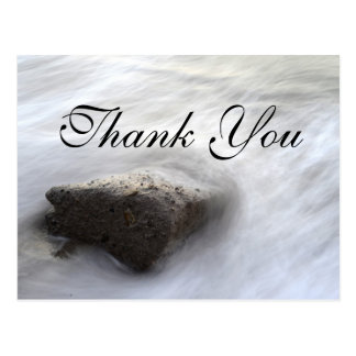 Flowing Water |Thank You Card Postcard