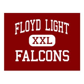 Floyd Light - Falcons - Middle - Portland Oregon Postcard