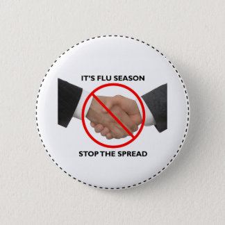 Flu Season Button