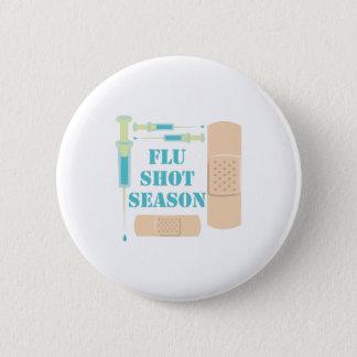 Flu Shot 2 Inch Round Button