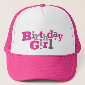 Fluctuating Type Birthday Girl Hat