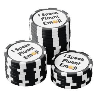 Fluent Emoji Poker Chips