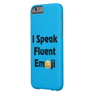 Fluent In Emoji Barely There iPhone 6 Case