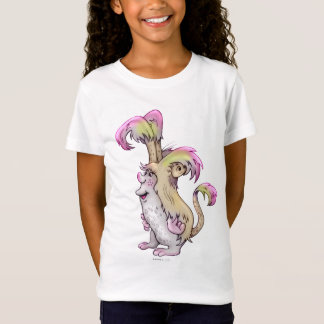 FLUFF MONSTER ALIEN  Babydoll T-Shirt