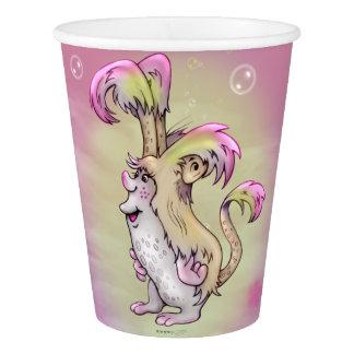 FLUFF MONSTER ALIEN CARTOON PAPER CUP