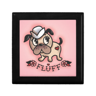 Fluff Monty Sailor Dog Jewlery Box