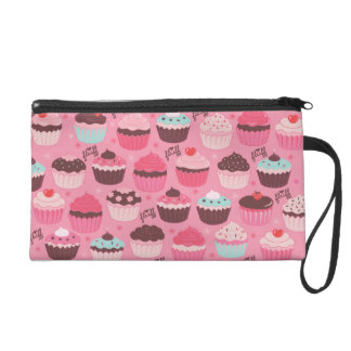 Fluffcakes Wristlet Bag by Fluff