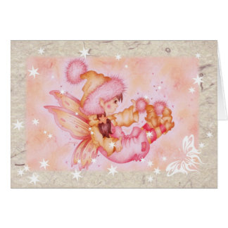 """Fluffie Fairie"" Note Card - Blank inside"
