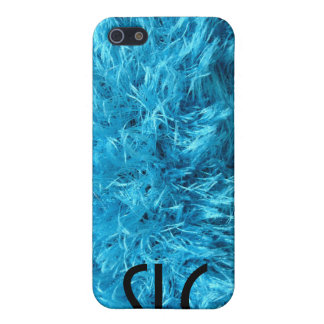 Fluffy Blue Fur iPhone 5/5S Case