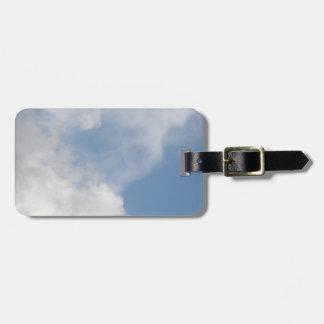 Fluffy Clouds Custom Luggage Tag