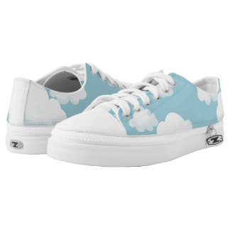 Fluffy Clouds Low-Top Sneakers