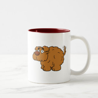 Fluffy Dog Coffee Mug