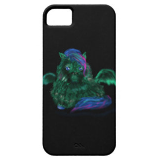 Fluffy Dragon Pony iPhone 5 Case