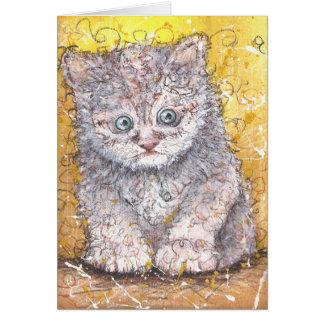 Fluffy Greeting Card