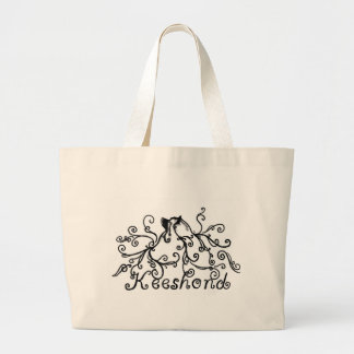 Fluffy Keeshond Tote