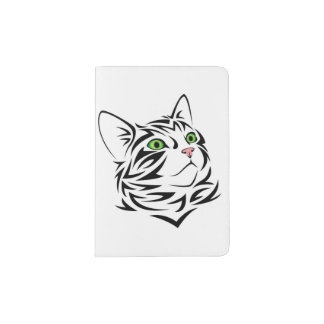 Fluffy Kitty Cat Passport Holder