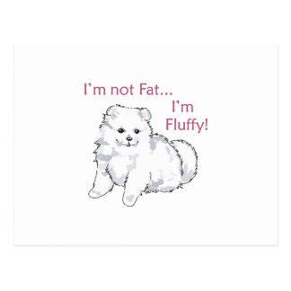 FLUFFY NOT FAT POSTCARDS