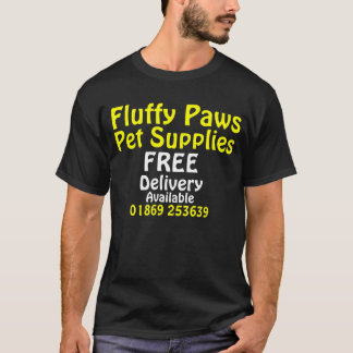 Fluffy Paws T-Shirt