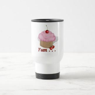 Fluffy Pink Yum! Travel Mug