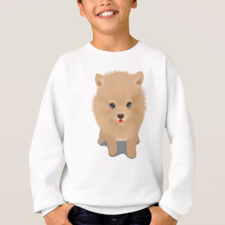 Fluffy Pomeranian Sweatshirt
