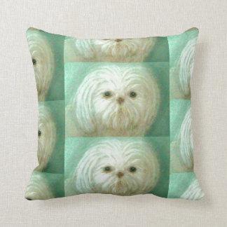 fluffy pup pillow