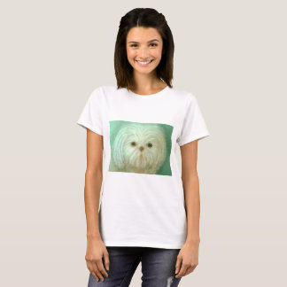 fluffy pup tshirt
