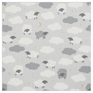 Fluffy Sheep Fabric