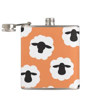 Fluffy Sheep • Fiber Love Crafts {Any Color} Flasks