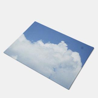 Fluffy White Clouds Doormat