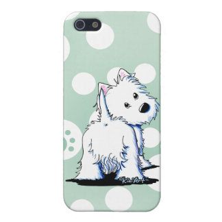Fluffybutt Westie iPhone 5/5S Covers
