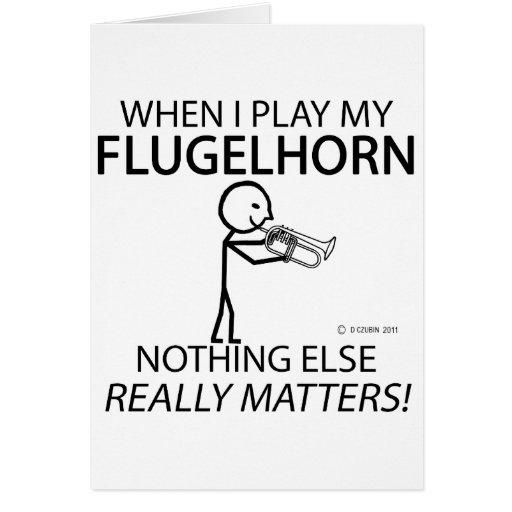 Flugelhorn Nothing Else Matters Card
