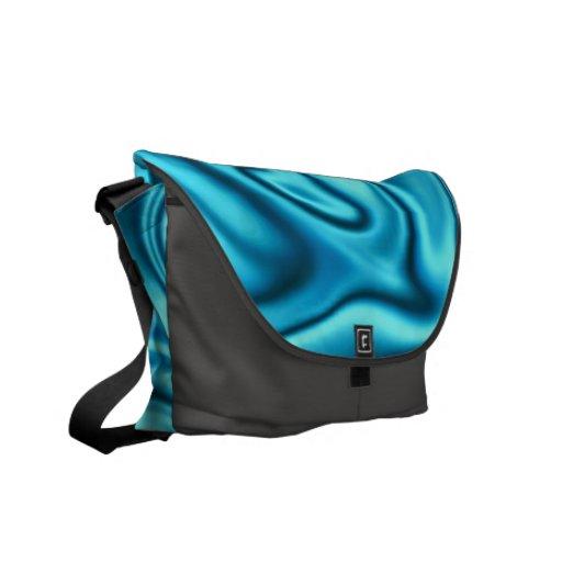 fluid art01 aqua messenger bags