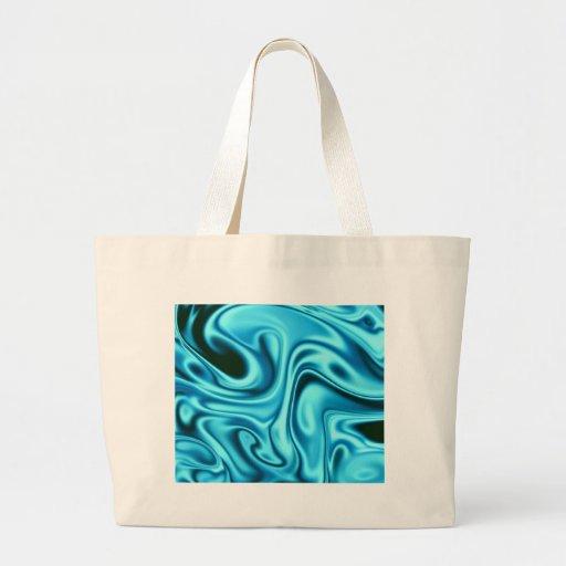 Fluid art 01 aqua bag