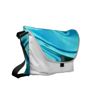 fluid art 01 aqua messenger bags