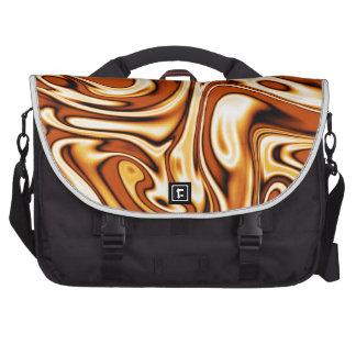 fluid art 01 golden commuter bag