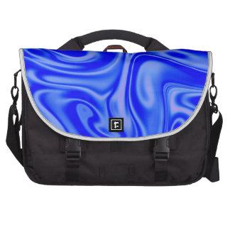 fluid art 01 inky blue commuter bag