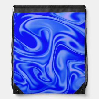 fluid art 01 inky blue backpack