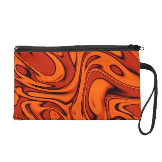 fluid art 01 red wristlet purses