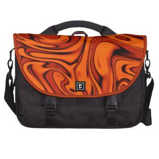 fluid art 01 red commuter bags