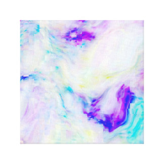Fluid Color Squares Canvas Print