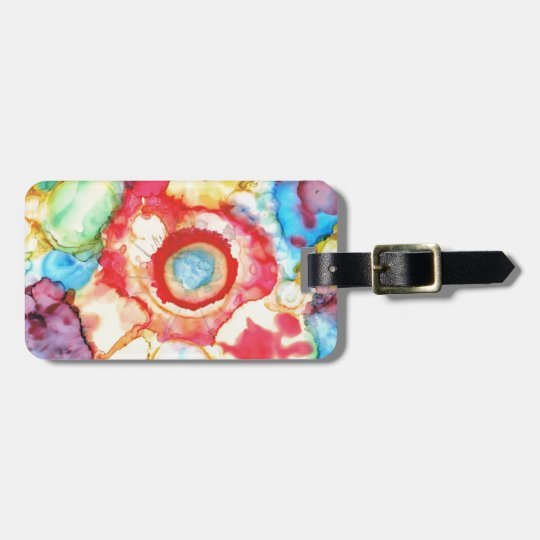 Fluid Colours Products Luggage Tag