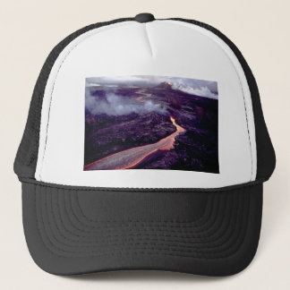 Fluid heat trucker hat