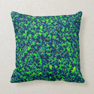 Fluid Strangeness Throw Pillow