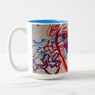 fluidity. Two-Tone coffee mug