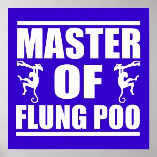 Flung Poo Master Poster