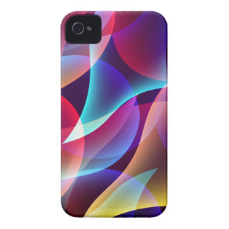 Fluorescence Colorful Abstract iPhone4/4S Case iPhone 4 Cover